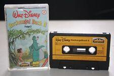 WALT DISNEY  DSCHUNGEL BUCH FOLGE 2 Karussel Disneyland Record MC Kassette