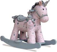 Celeste & Fae Infant Toddler Unicorn Rocking Horse 64x35x52cm 9m+