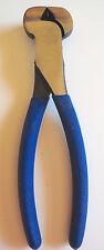 """8""""/200mm  END CUTTERS- STEEL FIXER NIPS- BLUE RUBBER GRIP"""