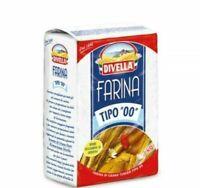 FARINA DIVELLA  5 KG TIPO 00  LIEVITAZIONE PANE PIZZA PASTA DOLCI MADE IN ITALY