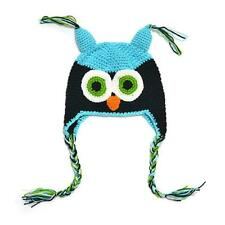 Baby Girl Toddler Hats Owls Knit Crochet Hat Winter Hat Beanie Cap 10 Colors New
