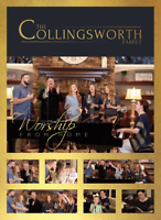 The Collingsworth Family • Worship From Home DVD 2020 StowTown Records •• NEW ••