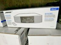 Black New Bose Wave Music System IV. CD & AM FM Free U.S. Wide Shipping Warranty
