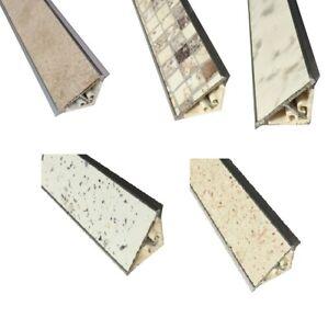 Alzatina in Alluminio per Top Cucina cm 100-200 Vari Colori - Alzatine per Tops