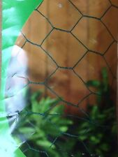 Pvc Coated Garden Netting Chicken Rabbit Wire Mesh Roll 10m x 25mm x 500mm 10255