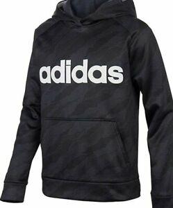 adidas Boys' Youth Pullover Logo Sweatshirt