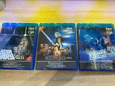 Star Wars 4K77 DNR Empire Strike Back Remastered & 4K83 DNR 1080p Bluray