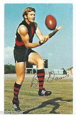 1971 Mobil Football Card (18 of 40) Barry DAVIS Essendon Near MINT