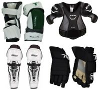 Senior SR Ice Inline Hockey Protective Gear Kit Set Adult Equipment Package New