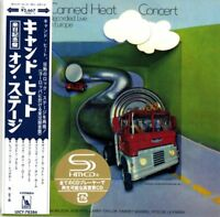 CANNED HEAT-70 CONCERT: RECORDED LIVE IN EUROPE-JAPAN MINI LP SHM-CD Ltd/Ed G00