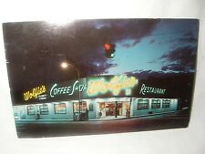 WOLFIE'S RESTAURANT CELEBRITY CORNER 21st & COLLINS AVE MIAMI BEACH FL POSTCARD