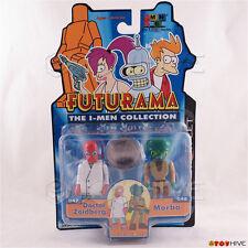 Futurama The I-Men Collection Doctor Zoidberg & Morbo Toynami - worn dented box
