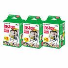 60 Prints Fujifilm Instax Mini Instant Film for 8-9 and all Fuji Mini Camera NEW