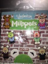 Disney 7 Pin Booster Pack Set New Package Vinylmation Muppets 1 With Chaser