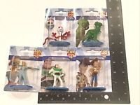 Pixar - Toy Story 4 - Figure Toy LOT (5) - NEW WOODY - BUZZ - FORKY - REX - BO