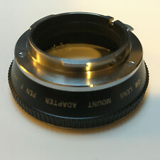 Olympus OM Lens to Olympus PEN F, FT or FV Body
