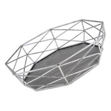 Metal Geometric Cake Stand Cake Accessories Wedding Table Decoation Silver