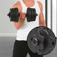 """2 Pair 1"""" Standard Spinlock Weight Bar Collars Dumbbell/Barbell/Dumbell Clamps"""