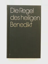 Die Regel des heiligen Benedikt Beuroner Kunstverlag