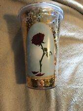Enchanted Rose Beauty And The Beasy Disney Cup No Straw