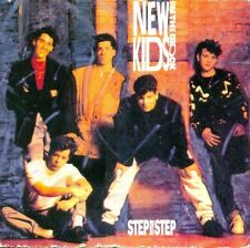 NEW KIDS ON THE BLOCK - Step by step 2TR 3-inch CDS 1990 SYNTH-POP