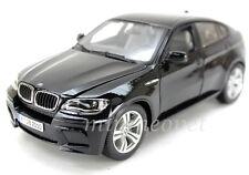 BBURAGO 18-12081 BMW X6M SUV 1/18 DIECAST BLACK