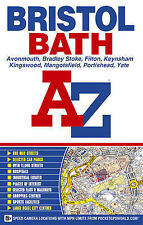 Bristol And Bath Street Atlas (paperback),GOOD Book