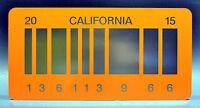 Back to the Future 2 / Delorean / 2015 *METAL* Prop Replica License Plate