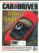 Car & Driver  May 1996 - Eclipse Spyder - BMW Z3 & 507 - VW Passat TDE