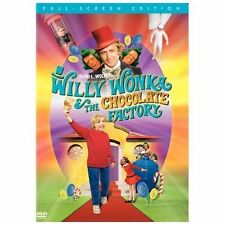 Willy Wonka & the Chocolate Factory (DVD, 2005, Full Frame) Gene Wilder NEW!