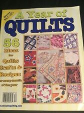 McCalls - A YEAR OF QUILTS 56 Ideas For Quilts Crafts & Recipes Spring 2003