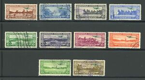 Guatemala Used Air Post Quetzal Selections: Scott #C32//C42 INTERIOR Assortment