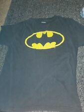 Dc Comics Batman Logo Black Tee  T-Shirt Medium 100% Cotton