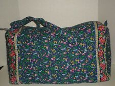 Vera Bradley Bluebird XLarge Duffel Bag Retired Very Nice Rare