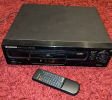 Pioneer CLD-S104 LaserDisc Player W/ OEM Remote Laser Disc Tested Works Great