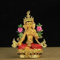 Feng Shui Tibet Tibetan Buddhism Statue Green Tara Buddha