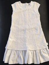 Jottum Sz 6 7 8 Dress Kleid Feines Off-white Lace Church €159 Mothers Day