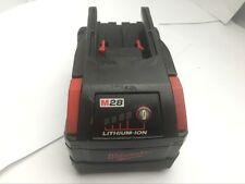 Milwaukee M28 28V Volt 3.0Ah  XC Li-ion Battery Fuel Gauge Used 48-11-2830