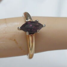 14KT VINTAGE RING WITH SMALL  AMETHYST STONE RING SIZE 5