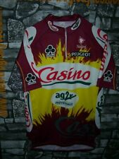 Vintage Cycling jersey shirt '90s pro Casino AG 2R maglia bici ciclismo