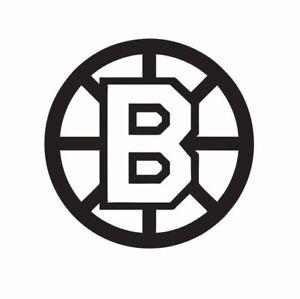 Boston Bruins NHL Hockey Vinyl Die Cut Car Decal Sticker - FREE SHIPPING