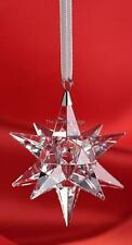 SWAROVSKI CRYSTAL CHRISTMAS STAR ORNAMENT CLEAR 5064257 MINT BOXED RETIRED