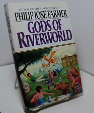Gods of Riverworld by Philip Jose Farmer - Book club edition - Riverworld 5