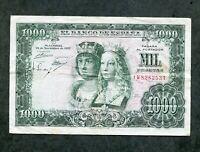 BILLETE 1000 PESETAS 1957  SERIE 1W8282531 EBC -