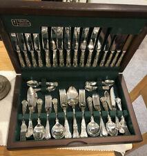 ARTHUR PRICE KINGS Canteen Of Silver Plate Cutlery 82 Piece EPNS A1 SHEFFIELD
