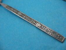 NASCO National Stainless Korea Silverware KASHMIR LOT OF 2 ice tea spoons