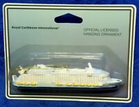 NEW RCCL Oasis of the Seas Cruise Ship Ornament - Official Royal Caribbean Item