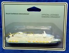 """Brand New"" Official Royal Caribbean Oasis of the Seas Christmas Ornament Model"