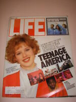 LIFE MAGAZINE, MARCH 1986, MOLLY RINGWALD Cover, TEENAGE AMERICA, CHALLENGER!