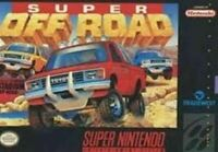 Super Off Road - Nintendo SNES Game Authentic